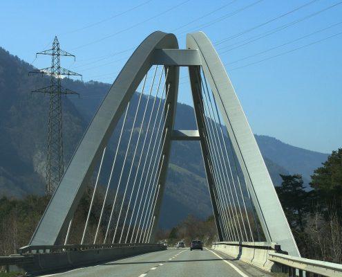 Brücke mit Korrosionsschutz-Beschichtung Schweiz