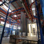 Spritztech AG Pulverbeschichtung Anlage in Kloten
