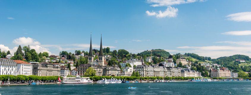 Stadtansicht Luzern See