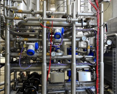 Hitzebeständige Beschichtung Pipelines