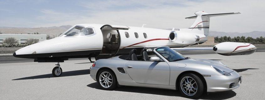 Automotive Lacke für Porsche, Flugzeug