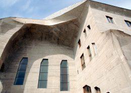 Betonbeschichtung Beton Architektur Goetheanum Dornach