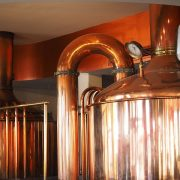 Fugenlose hygienische Bodenbeschichtung in Brauerei
