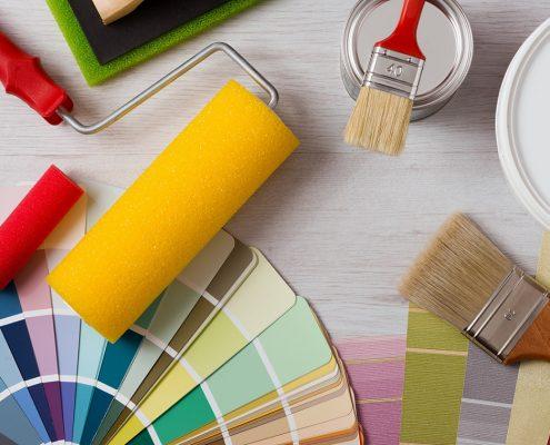 Dekorationslacke und -farben