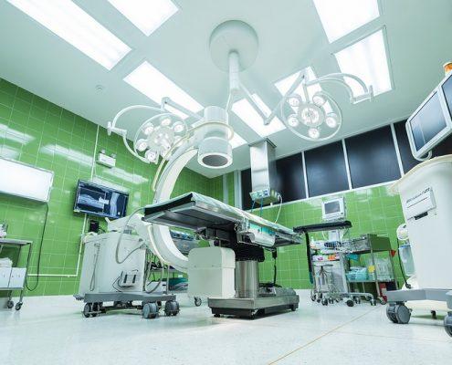 Antimikrobielle Beschichtungen im Gesundheitswesen