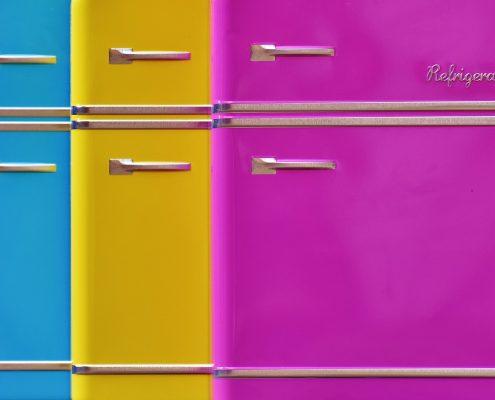 Pulverbeschichtung von Elektrogeräten für den Haushalt