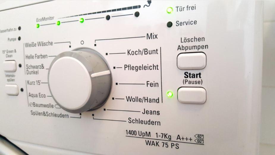 Waschmaschine mit Pulverbeschichtung von Elektrogeräten für den Haushalt