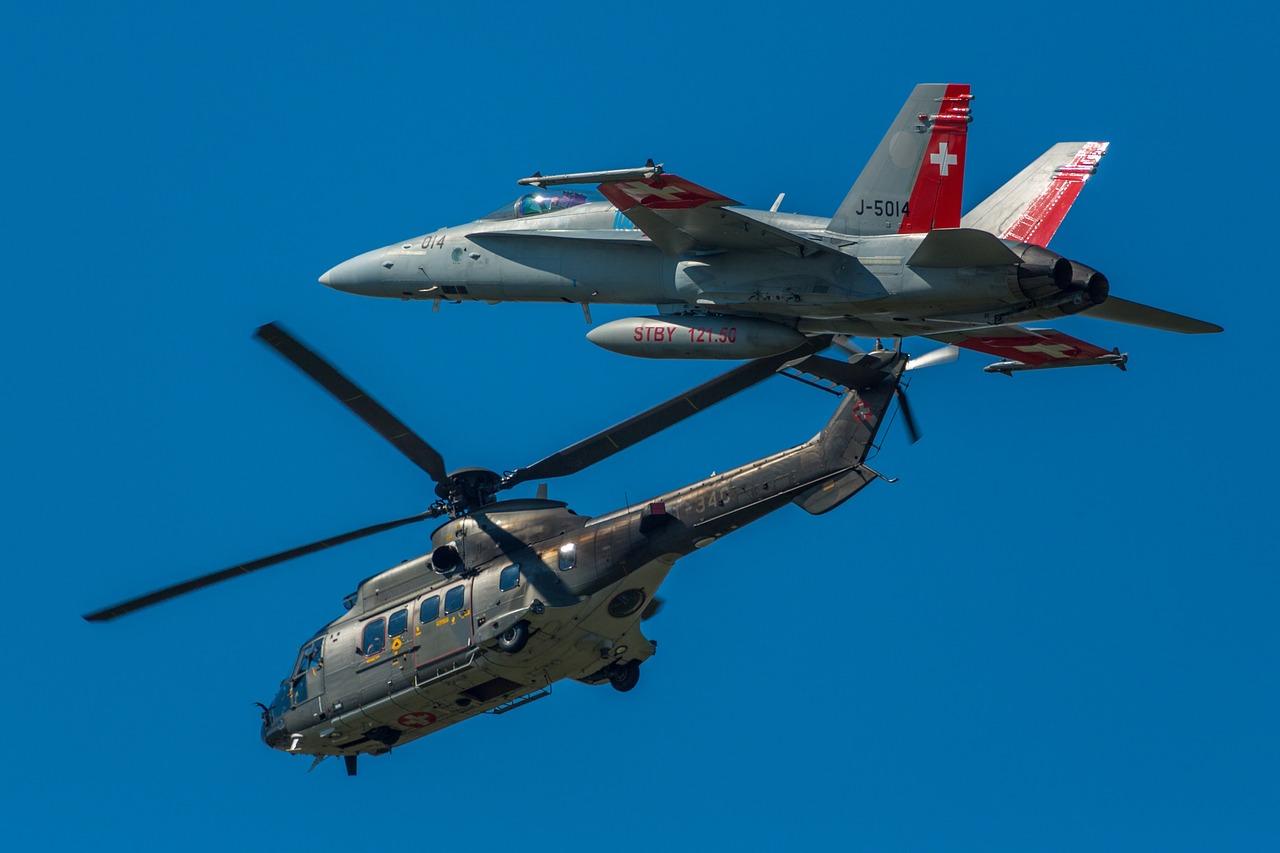Schweizer Militärluftfahrzeuge