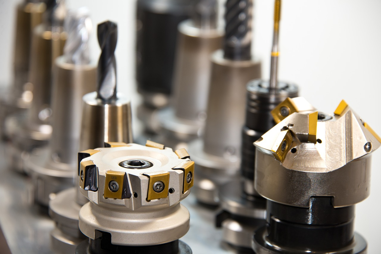 Zerspanende CNC-Fräsen mit PVD Beschichtung